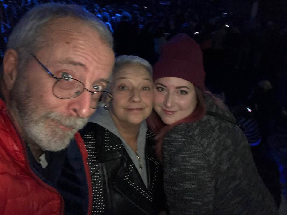 Giancarlo, Nadia e Martina